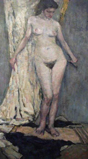 Екатерина Пехова. Голубая натурщица