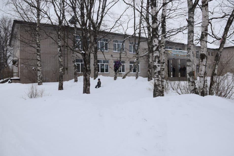 Школа в Святозере. Фото Марии Голубевой