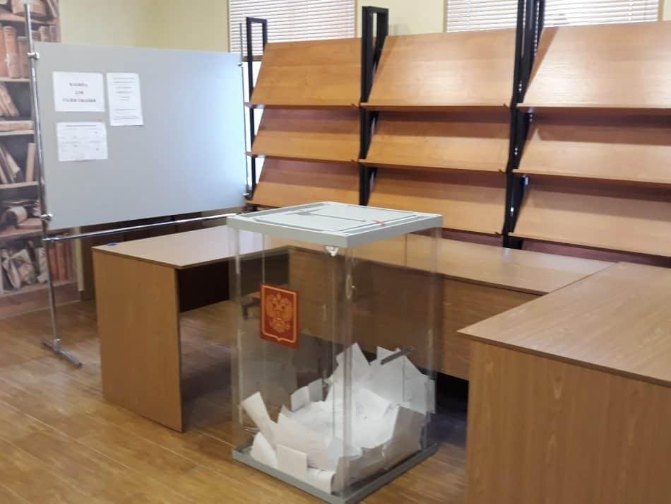 Урна для голосования. Фото: vk.com/karrc
