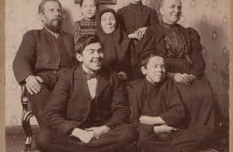 Тивдийская семья, начало ХХ века