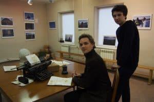 Яков Слепков (слева) и Егор Захаров. Фото Ирины Ларионовой