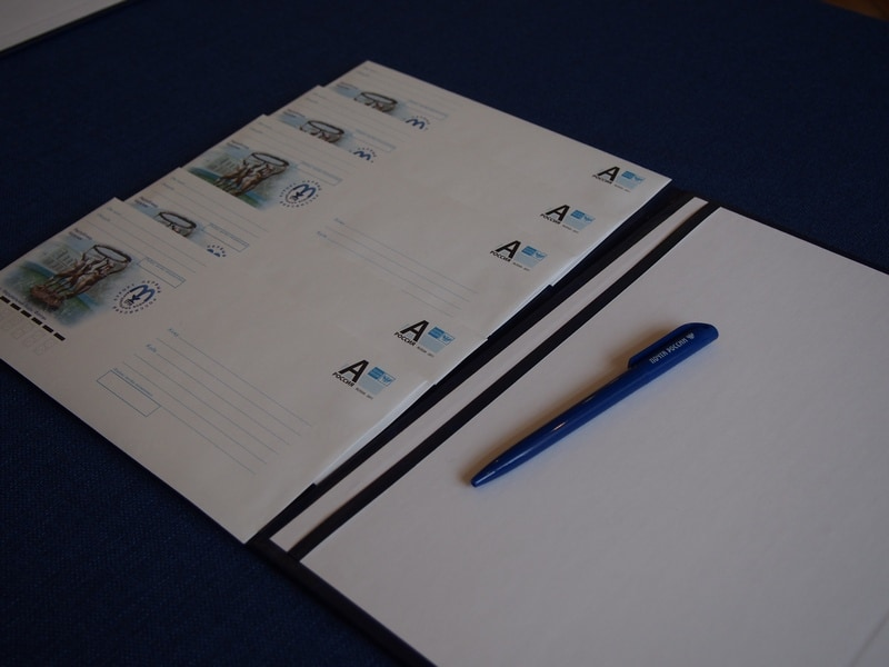 К 300-летию Марциальных Вод выпущен конверт с символом курорта