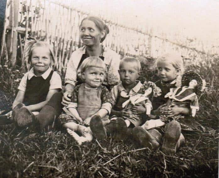 Деревня Шуньга, 1927 год