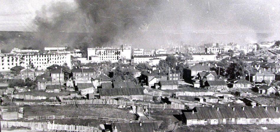 Петрозаводск горит. 1 октября 1941 года