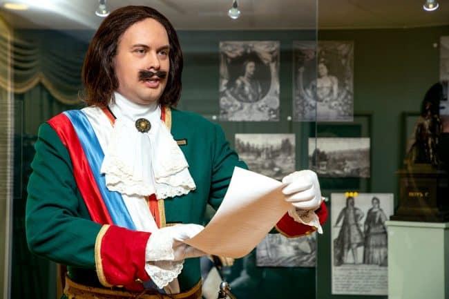 Указ о создании первого российского курорта зачитал во время пресс-показа сам император. Фото Леонида Николаева