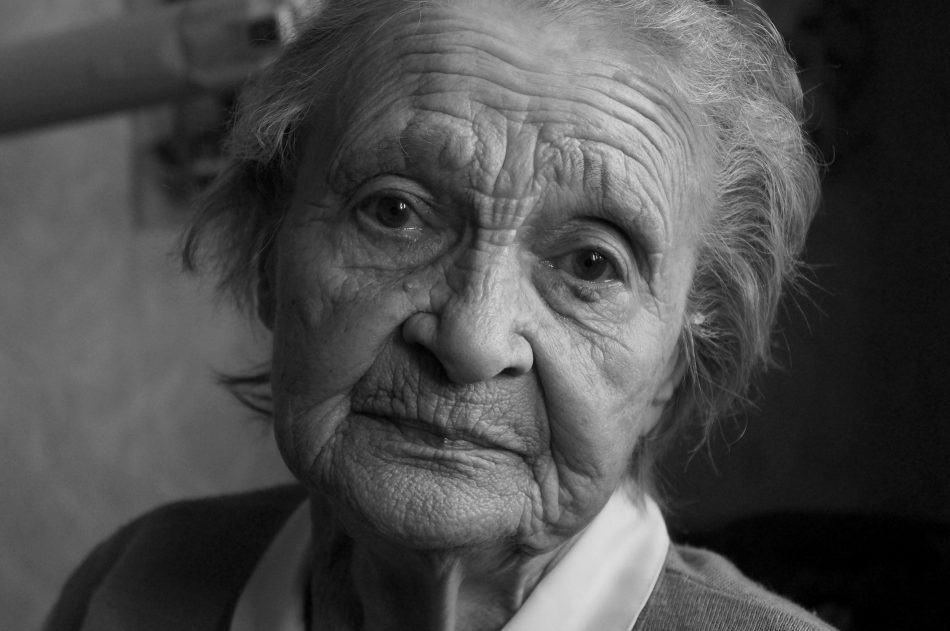 Бабушка Валя. Фото Ирины Ларионовой