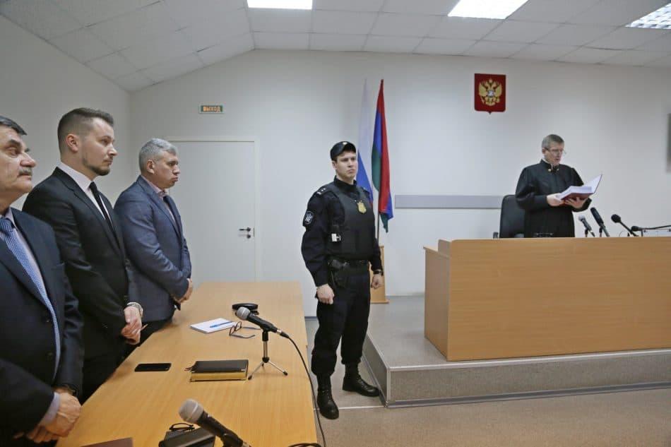 Оглашение приговора в  Петрозаводском городском суде 18 марта 2019 года. Фото Владимира Ларионова