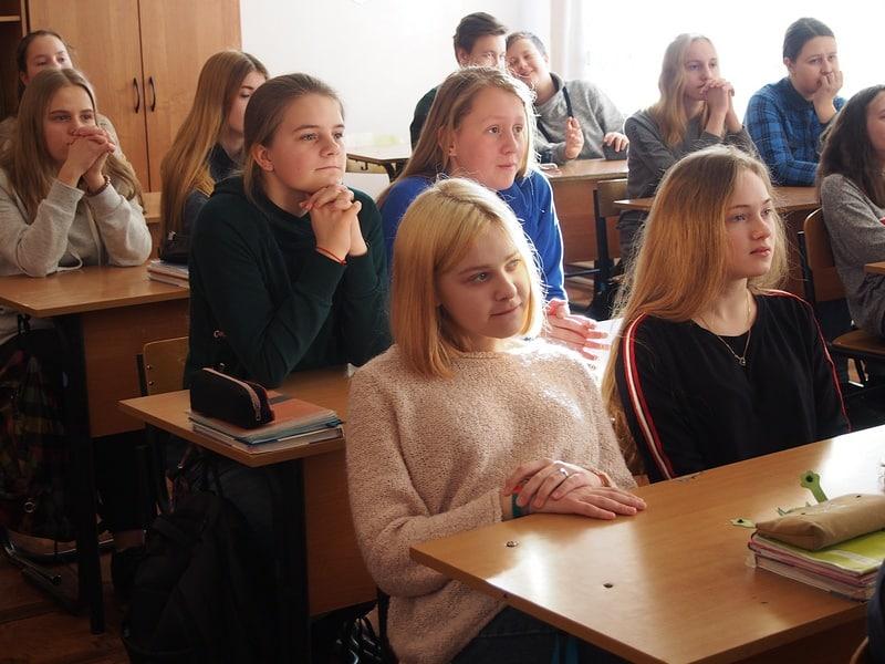 Восьмиклассники школы №3 заинтересовались проектом
