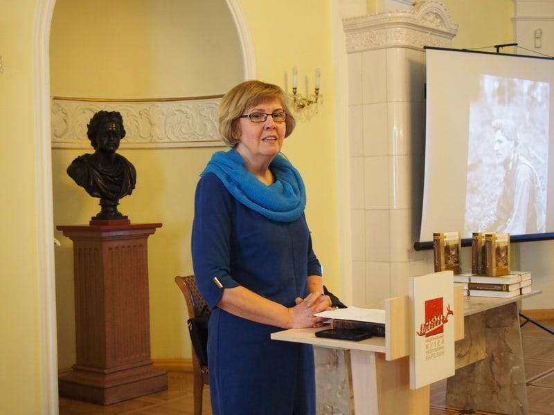 Ирма Муллонен, главный научный сотрудник Института языка, литературы и истории Карельского научного центра РАН