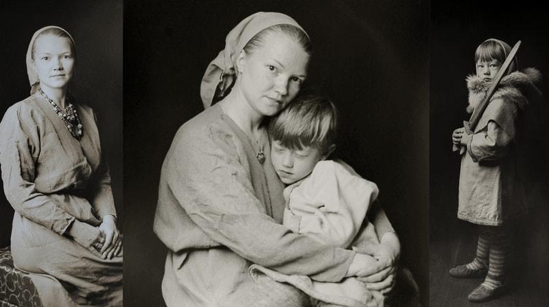 "Анна Чоботова. Триптих ""Мама"""