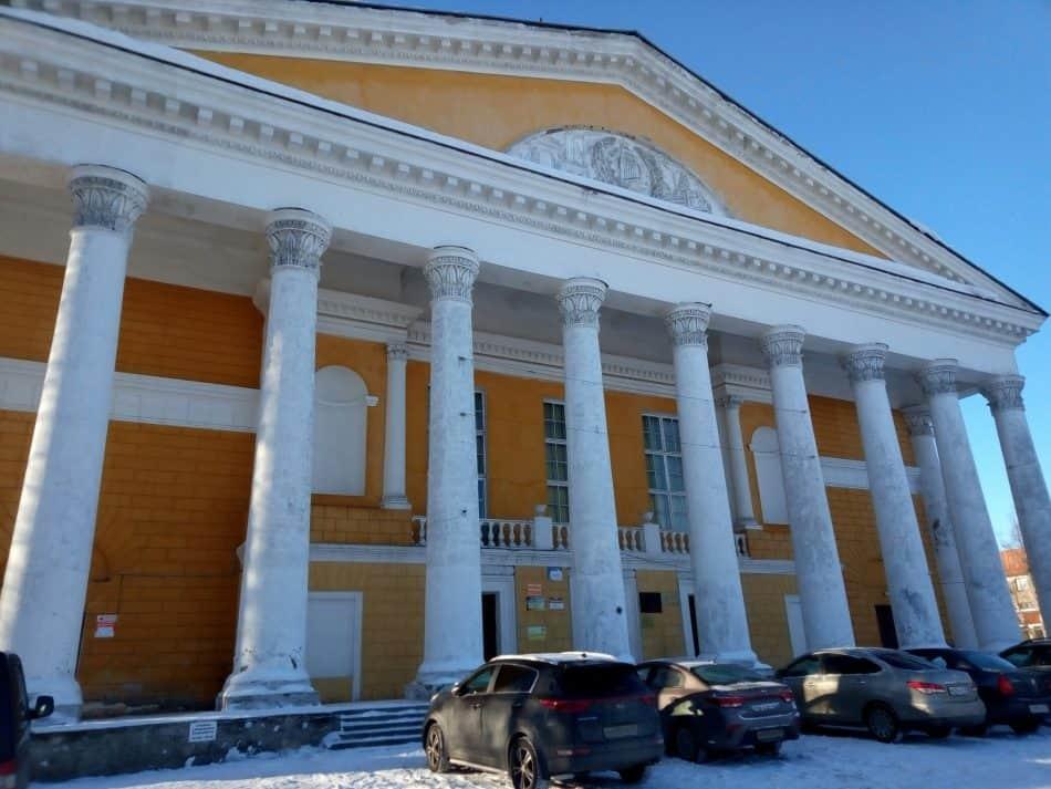 Здание ДК ОТЗ в Петрозаводске. 2019 год