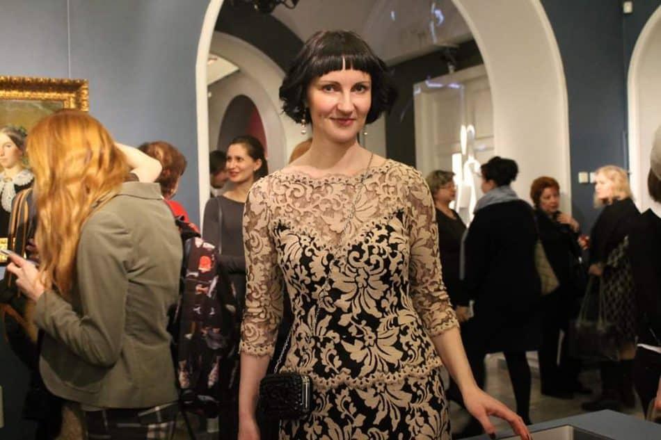 Екатерина Рычкова во Всероссийском музее декоративно-прикладного искусства в Москве