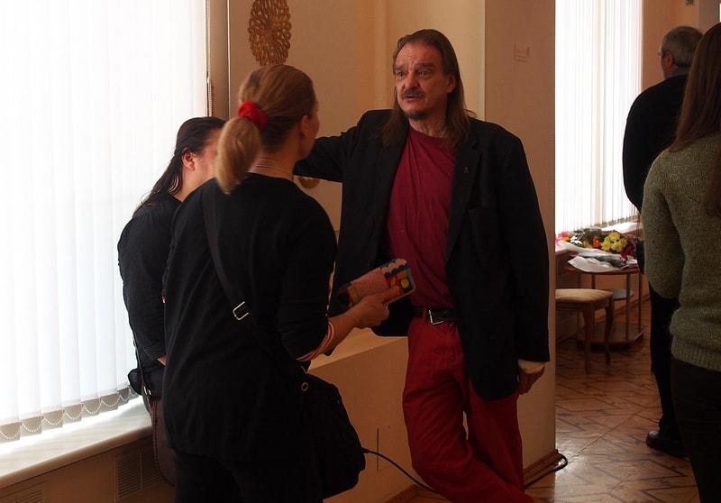 Финские художники на вернисаже