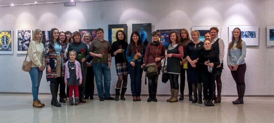 Участники выставки. Фото Андрей Еремкин