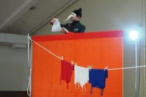 "Сцена из спектакля  ""Liberté, égalité, fraternité. Фото Марии Голубевой"