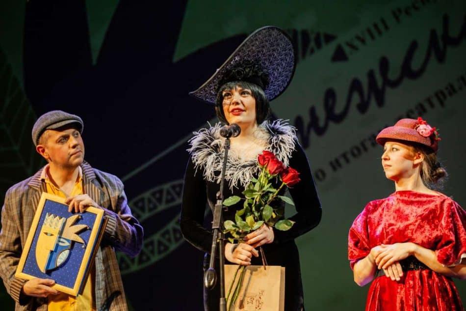 Маргарита Чемдуж (в центре). Фото Юлии Утышевой