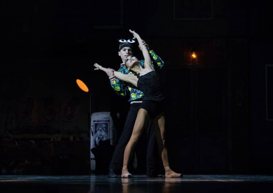 «Коппелия». Коппелия – Юка Идзуми, Натанаэль – Александр Шутов. Фото Виталия Голубева