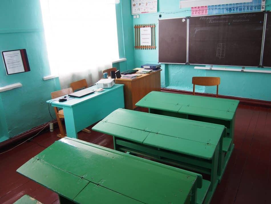 В Крошнозеро сейчас 9 учеников начальных классов. Фото Марии Голубевой