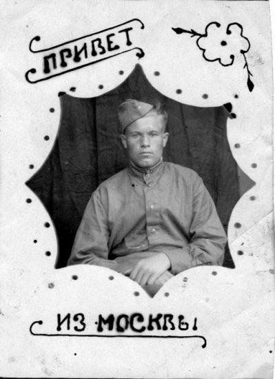 Николай Скорняков после выписки из госпиталя