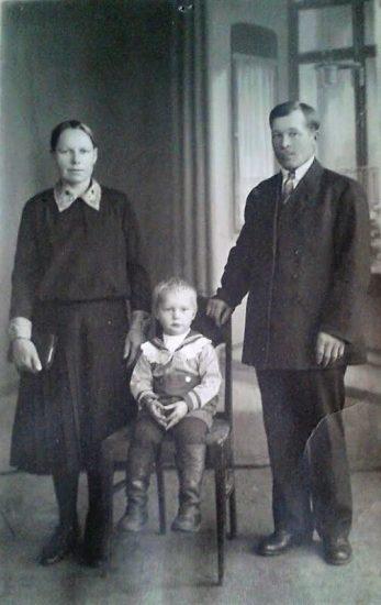 Евдокия, Яков и Ниило Козины