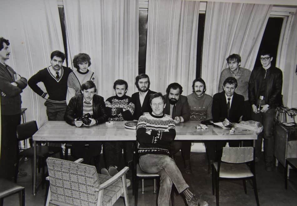 """Фотоклуб """"Полюс"""", Петрозаводск. Конец 1970-х"""