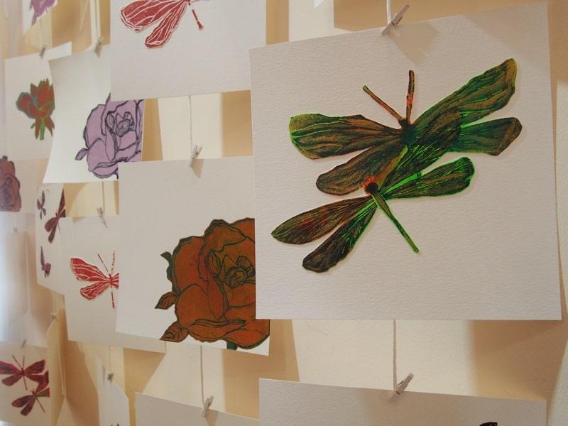 Пиа Синкконен. Розы и бабочки