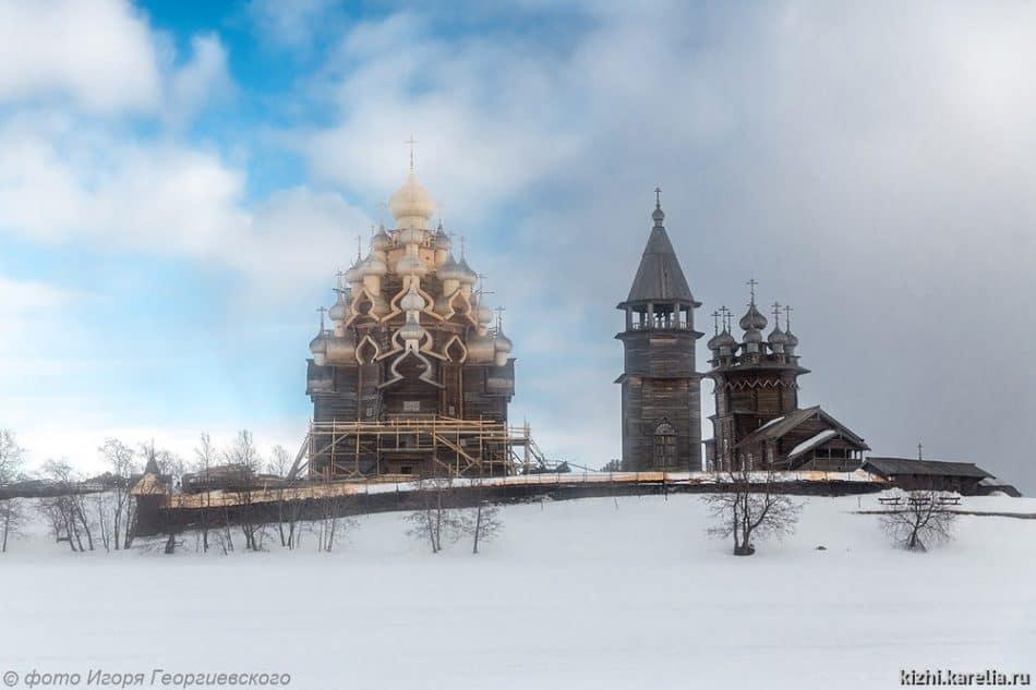 Кижский погост. Фото Игоря Георгиевского