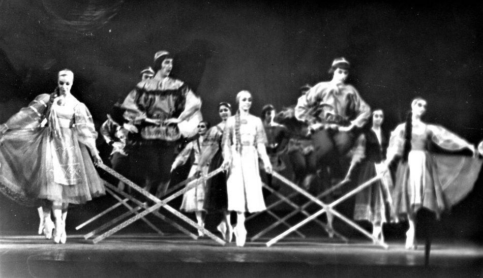 """""""Лучинки"""" - народный танец. Сцена из балета """"Сампо"""""""