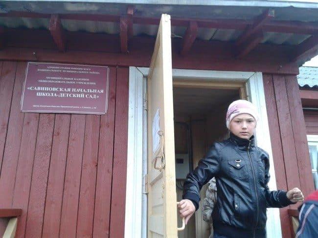 Школа в Савиново была открыта в 1896 году. Фото Зинаиды Ефловой