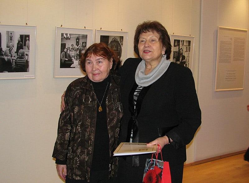 Серафима Константиновна Полякова (слева) и Наталья Ивановна Вавилова