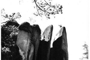 Столбы Перья. Старт к прыжку с Пера на Перо. Фото из личного архива Станислава Зверховского