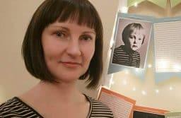 """Екатерина Рычкова в  музее """"Кижи"""". Фотография маленькой Кати вошла в экспозицию новой выставки"""