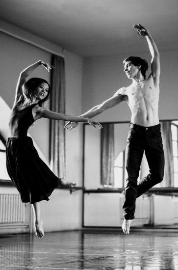 Юка Идзуми и Александр Шутов. Фото Марии Брусникиной