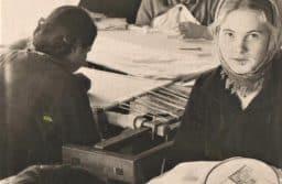 Заонежские мастерицы в 1956 году