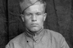 Разведчик-корректировщик Николай Скорняков, 1945 год