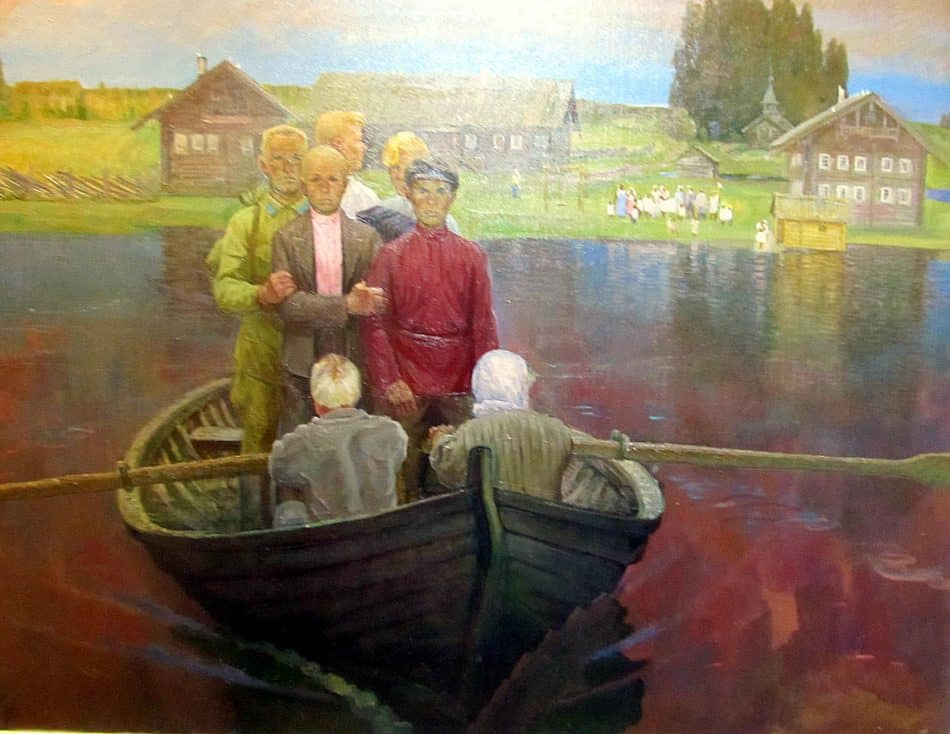 Борис Поморцев. Сыновья. Сорок первый год. 1984