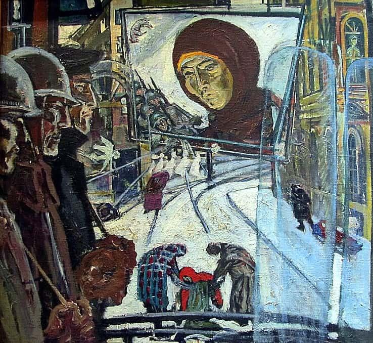 Сергей Якобчук (1937 – 2015). Водитель трамвая (Блокада). 1964