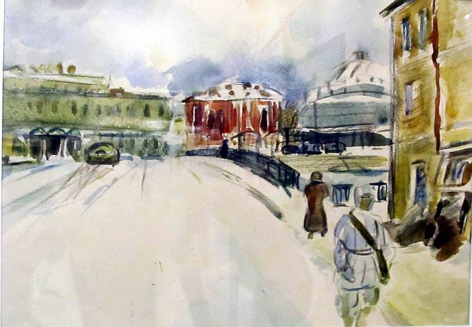 Павел Кондратьев (1902 – 1985). Город-фронт (1941-1942)