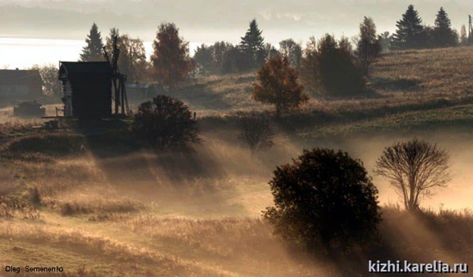 Осенний остров. Фото Олега Семененко