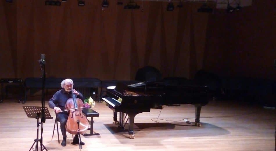Марк Дробинский в Большом зале Петрозаводской консерватории