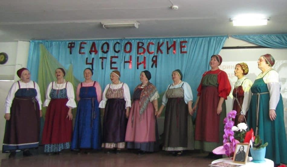 """Выступает """"Куделюшка"""".  Фото из группы: vk.com/onegozaonezhe"""