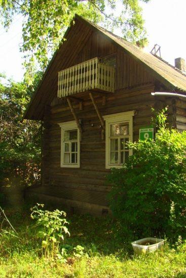 Дом Натальи Лаврецовой в Савкино. Фото Ирины Ларионовой