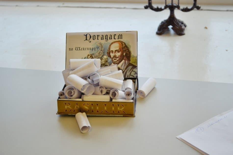 «Гоголь VS (против) Шекспира». Фото  Анны Николюкиной