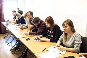 Тотальный диктант впервые писали в Академии фотографии. Фото: vk.com/ptz_ph