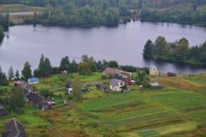 Ведлозеро. Село впервые упоминается в документах в XVI веке. Фото: ostrova10.ru