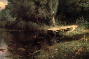 В.Д. Поленов. Заросший пруд