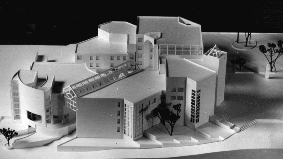 Проект победитель архитектурного конкурса на общественно-торговый центр в составе гостиницы, офисов, музея и небольших торговых предприятий