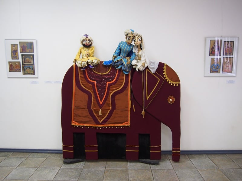 "Алевтина Торик. Волшебная лампа Алладина"". 2007 г. Театр кукол РК"