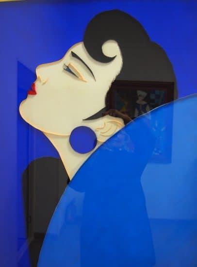 Японская красавица. По мотивам японского художника Ичира Цурута