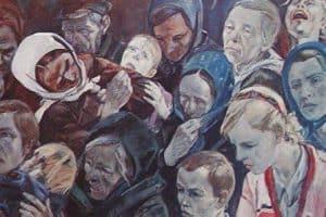 "Александр Александрович Дейнека ""В оккупации"" 1944 г."